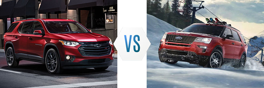 2019 Chevrolet Traverse vs Ford Explorer