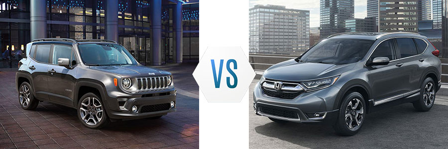 2019 Jeep Renegade vs Honda CR-V