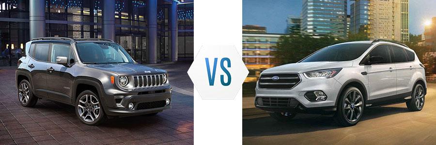 2019 Jeep Renegade vs Ford Escape