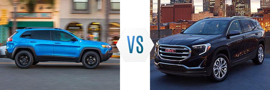 2020 Jeep Cherokee vs GMC Terrain