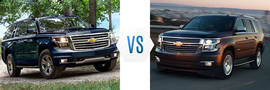 Should You Choose a Suburban or a Tahoe