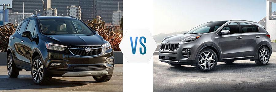 2019 Buick Encore vs Kia Sportage