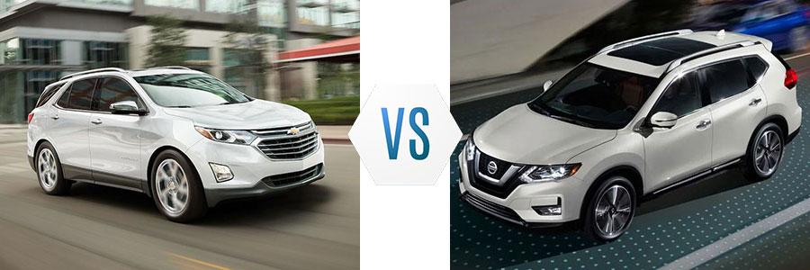 2019 Chevrolet Equinox vs Nissan Rogue