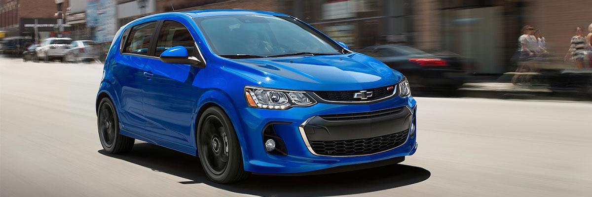new Chevrolet Sonic