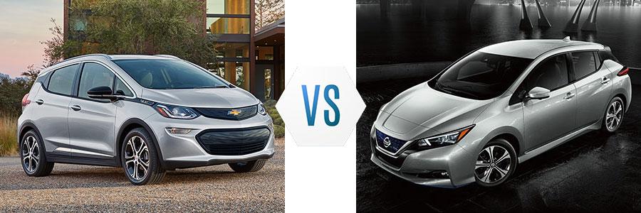 Chevrolet Bolt vs Nissan Leaf