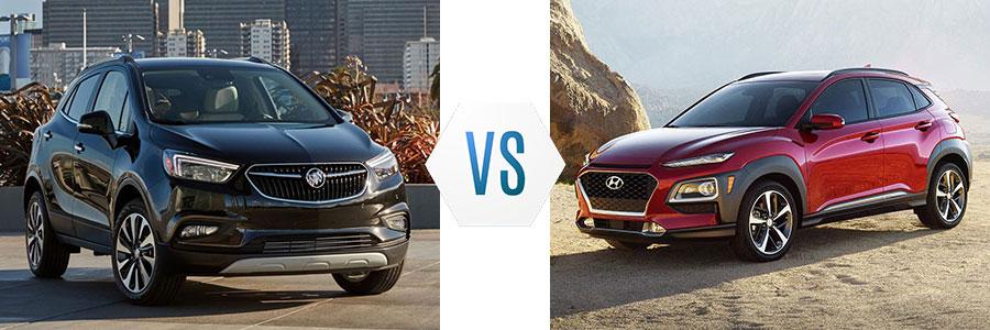 2019 Buick Encore vs Hyundai Kona