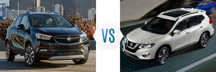 2019 Buick Encore vs Nissan Rogue