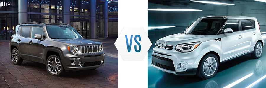 2019 Jeep Renegade vs Kia Soul