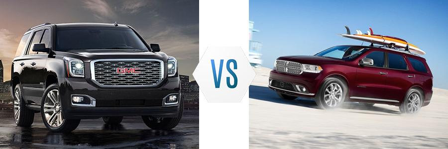 2020 GMC Yukon XL vs Dodge Durango